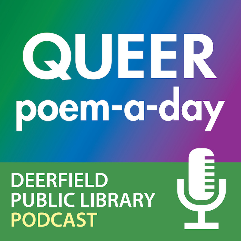 Queer Poem-a-Day podcast artwork