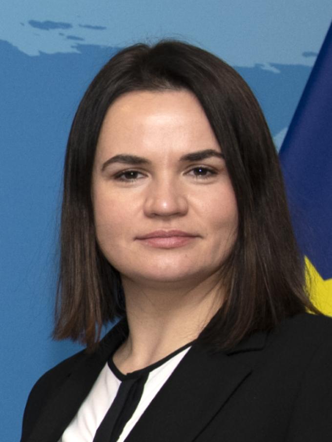 Sviatlana Tsikhanouskaya headshot