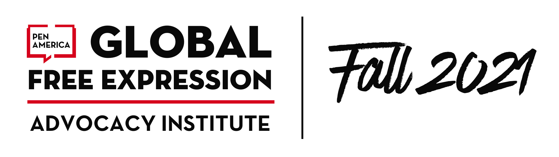 Fall 2021 Global Free Expression Advocacy Institute Hero Image