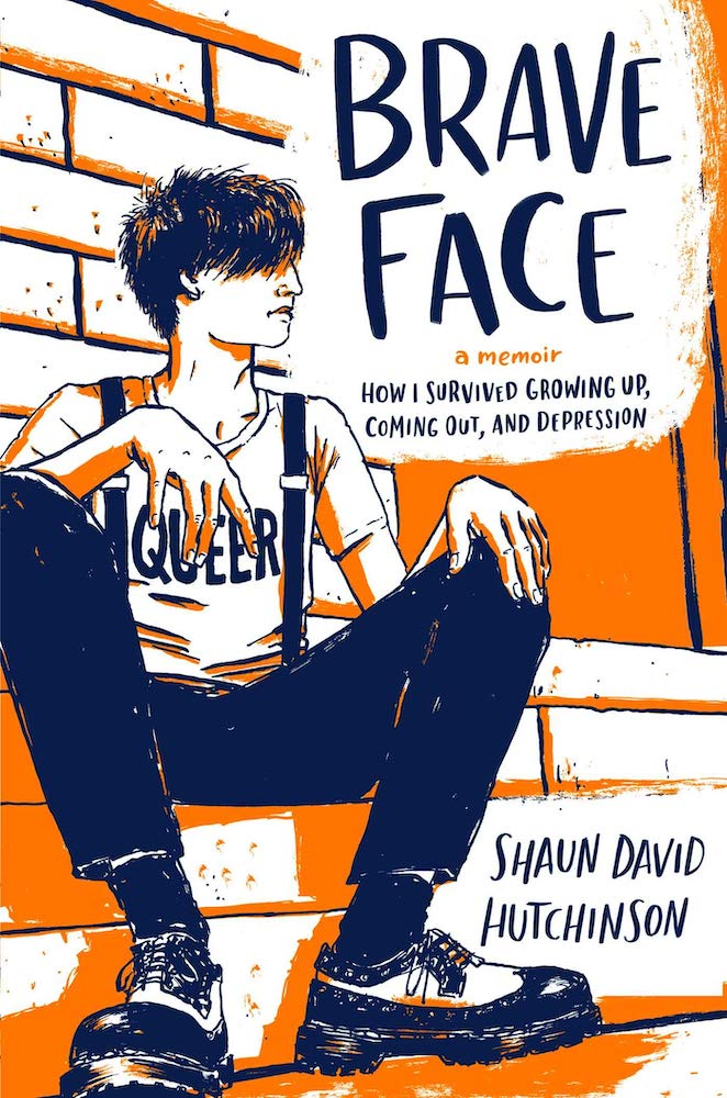 Brave Face book cover