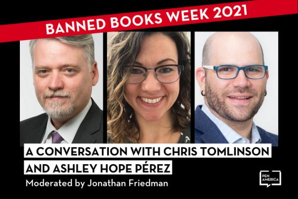A Conversation with Chris Tomlinson and Ashley Hope Pérez