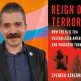 """Spencer Ackerman headshot and """"Reign of Terror"""" book cover"""