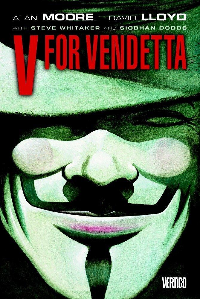 V for Vendetta book cover