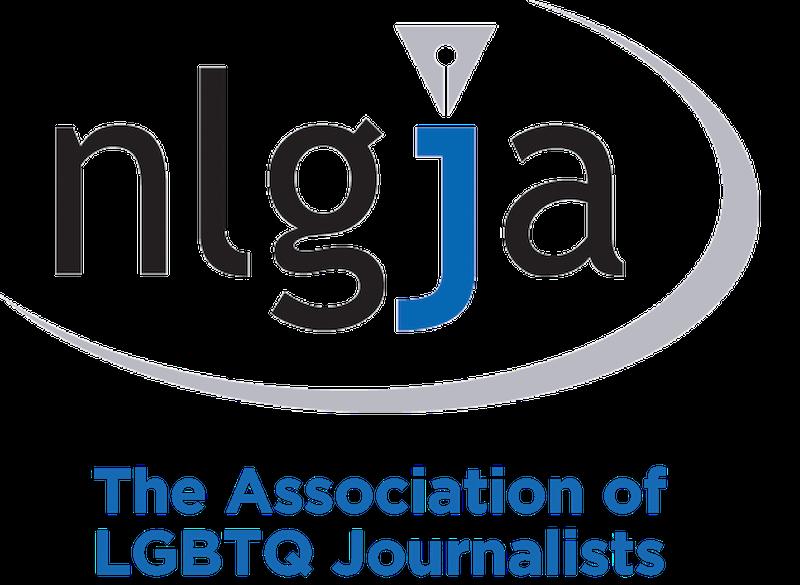 The Association of LGBTQ Journalists logo